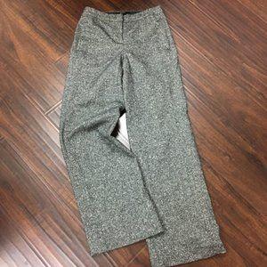 VS Black-white wide leg pant Wool-fully lined Sz 2